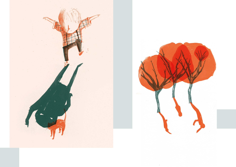 Illustraties uit Schim van Kristof Devos