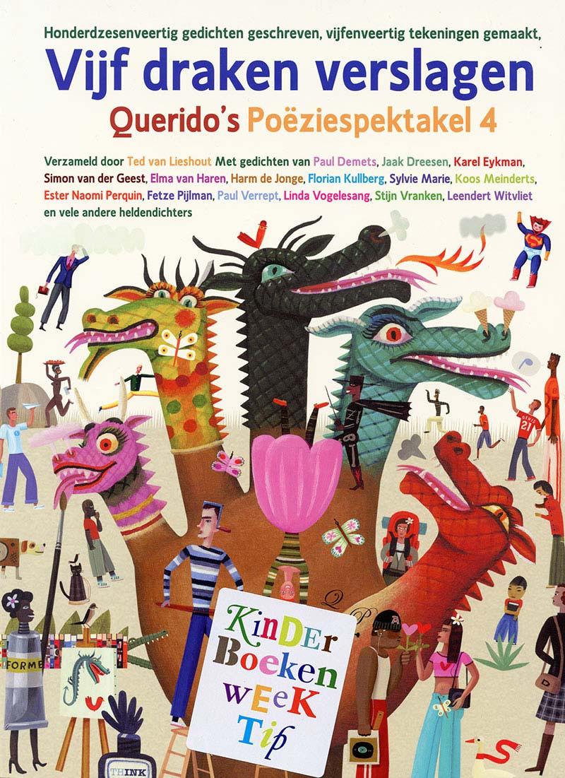 Cover van Vijf draken verslagen