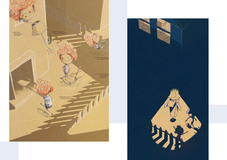 Illustratie uit Max maakt een vriend van Kristof Devos
